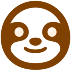 Sloth of The Day - Slothoftheday - Sloth Life - Sloth On - Sloths Favorite Icon 144x