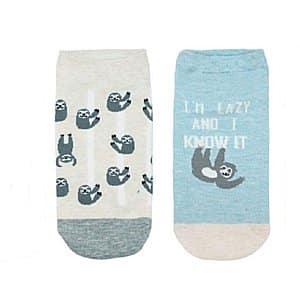 Funny Cute Sloth Ankle Socks 2 Pack
