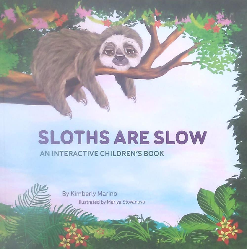Kids SLoth Book Helps Down Syndrome Children small