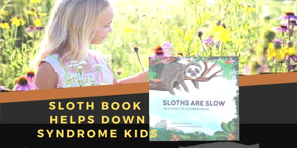 Children Sloth Book Helps Down Syndrome Kids