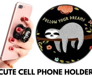 Multi-Functional Cute Sloth Cell Phone Holder