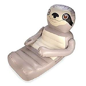 Huggables Sloth Inflatable Beach Float