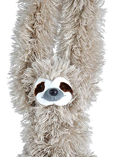 30 Inch Hanging Three-Toed Sloth Stuffed Animal Plush Toy 4