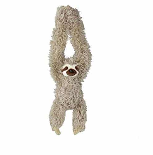 30 Inch Hanging Three-Toed Sloth Stuffed Animal Plush Toy 7