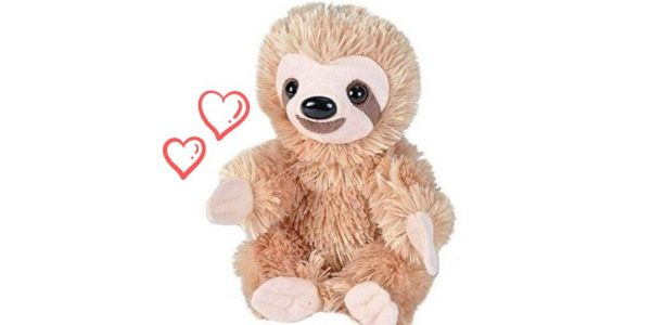 7 Inch Simply Adorable Sloth Plush Stuffed Animal Toy