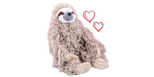 Amazingly Cool Looking 12 Inch Three Toed Sloth Stuffed Doll