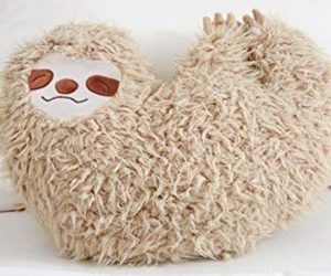 16 Inch Cool Sloth Comfy Pillow Sloth Face Smiling