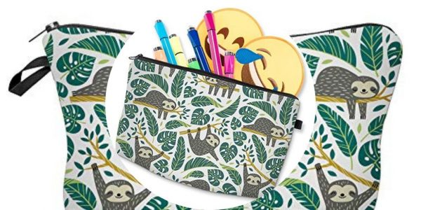 Adorable 3D Sloth Travel Pouch Waterproof Makeup Organizer feature