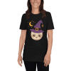 Adorable Little Witch Sloth Halloween T-Shirt Unisex Black