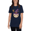 Adorable Little Witch Sloth Halloween T-Shirt Unisex Navy