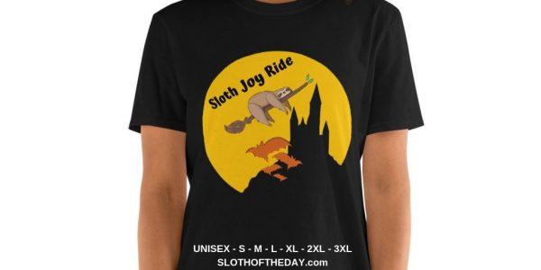 Amazing Halloween Joy Ride Sloth Halloween T-shirt (1)