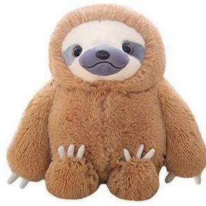 HUGE Fluffy Sloth Stuffed Animal Toy Gift for Kids Feature 2