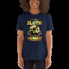 I Am Really a Sloth Halloween T-shirt Navy Sloth Shirt