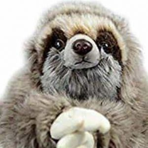 Realistic Looking Sloth Toy Three-Toed Sloth