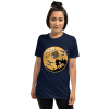 Relaxing Fly Low and Chill Sloth Halloween Tshirt Navy Sloth Shirt