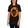 Sloth Flying Hauntingly Free Style Halloween T-shirt Sloth Black Shirt