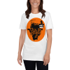 Sloth Flying Hauntingly Free Style Halloween T-shirt Sloth White Shirt