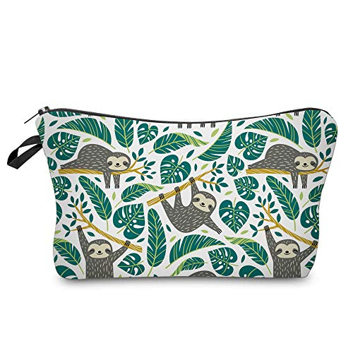 Unique 3D Sloth Travel Pouch Waterproof Makeup Organizer