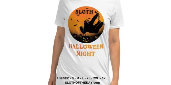 Unique Sloth Pumpkin Patch Halloween Scary Tshirt