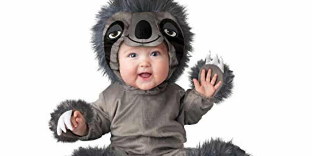 Adorable Life Like Child Sloth Costume