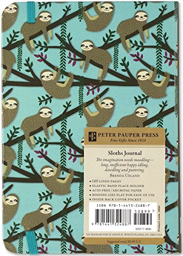 Brilliant Andie Hanna Sloths Journal for Special Thoughts