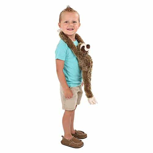 Cute 28-inch Hanging Three-Toed Sloth Toy