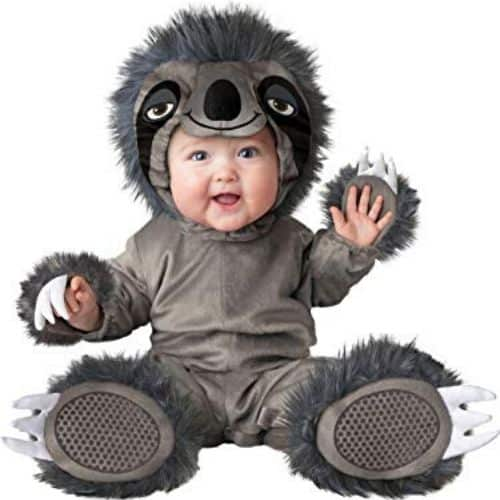 Cute Life Like Child Sloth Costume