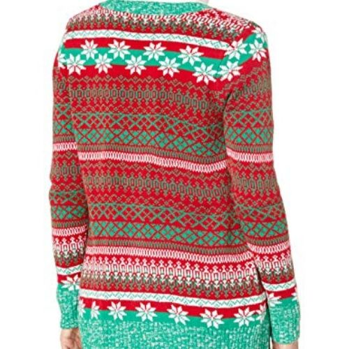 Super Warm Awesome Sloth Christmas Cardigan for Women