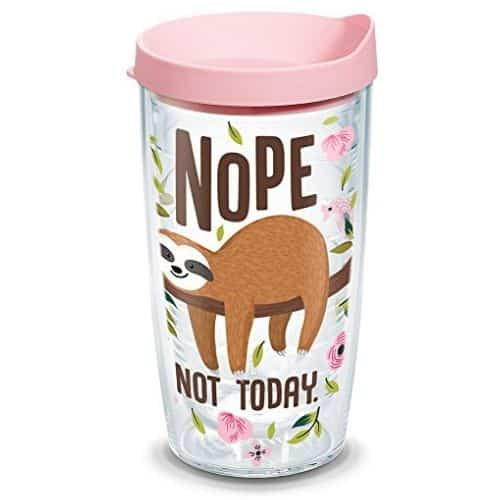 Cool Sloth Nope Not Today Insulated Tumbler