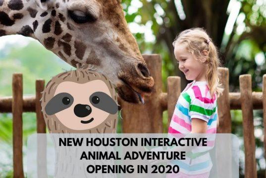 New Houston Interactive Animal Adventure 2020