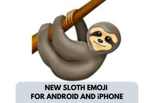 New Sloth Emoji Android iPhone 2019 Here For Sloth Lovers