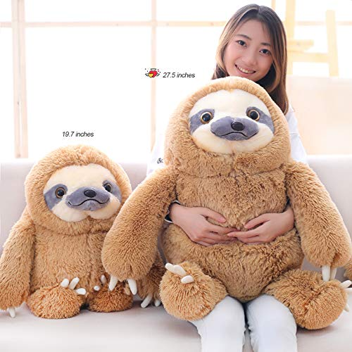 Giant Sloth Stuffed Animal Toy Large Plush Sloth Gifts