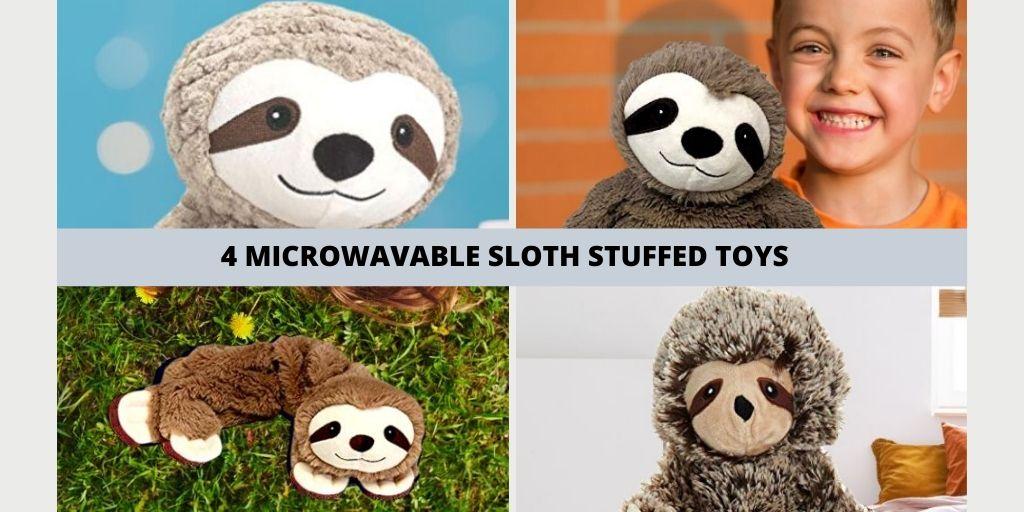 4 Microwavable Stuffed Animal Microwavable Sloth