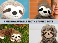 4 Sloth Microwavable Warmer Stuffed Animals Microwavable Sloth
