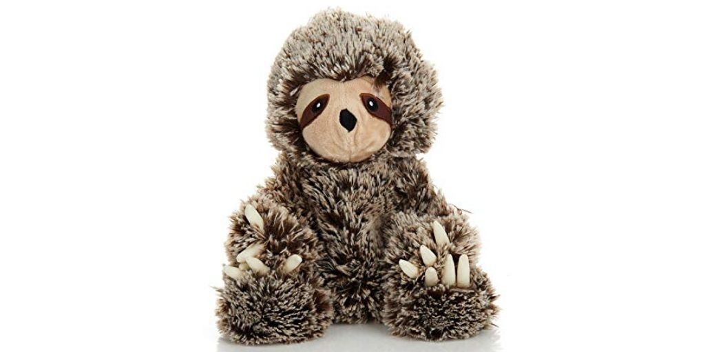 Microwavable Lavender Sloth Scented Plush Animal Sloth of The Day