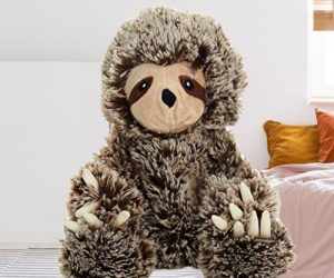 Microwavable Lavender Sloth Scented Plush Toy Sloth of The Day