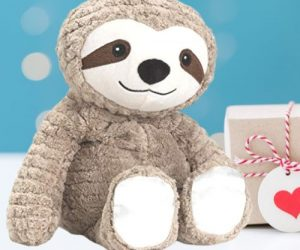 My First Warmies Microwavable Scented Plush SlothFrench Lavender Scented Sloth of The Day