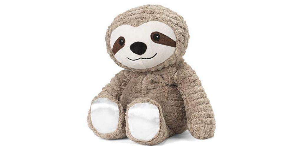 My First Warmies Microwavable Scented Plush Sloth French Lavender Scented Social