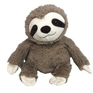 Warmies Microwavable Plush Sloth French Lavender Scented