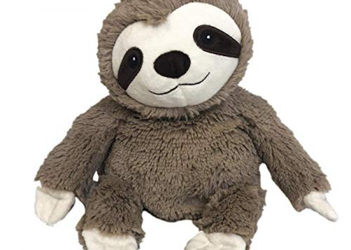 Adorable Microwavable Plush Sloth French Lavender Scented