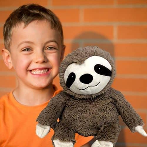 Warmies Microwavable Plush Sloth