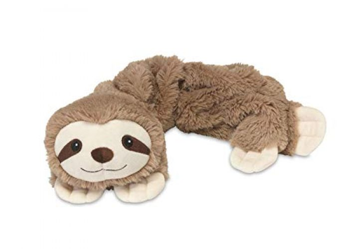 Wrap Microwavable Sloth Plush Lavender Sloth Scented