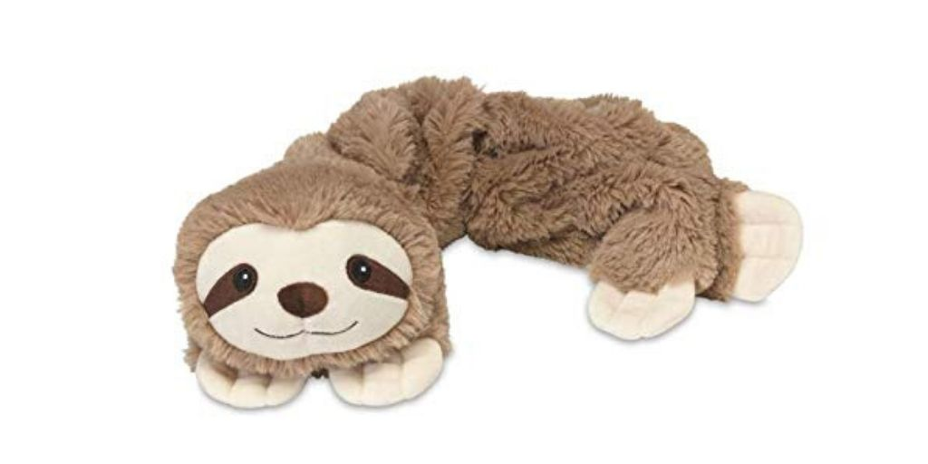 Wrap Microwavable Sloth Plush Lavender Sloth Scented Sloth of The Day