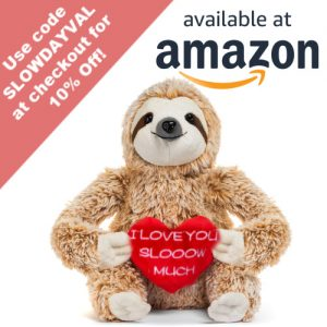 Cute Sloth I Love You Slooow Much Sloth Teddy Bear Gifts Coupon
