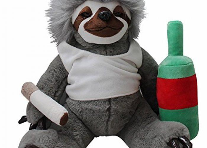 Moochie The Slacker Cuddly Sloth Plushie