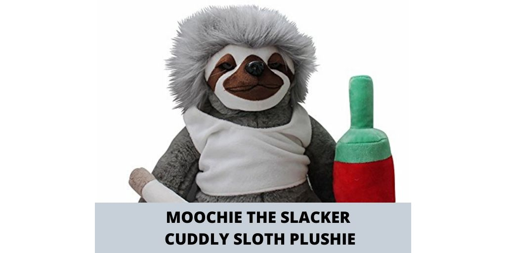 Moochie The Slacker Cuddly Sloth Plushie Social