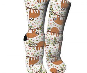 Retro Style Sloth Socks Unisex Novelty Socks