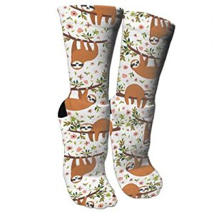Retro Style Sloth Socks Unisex Novelty Socks