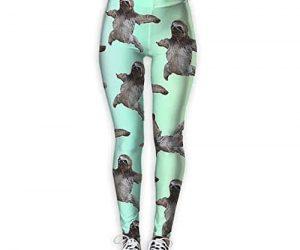 Skinny Tights Active Sloth Yoga Pants Women Sloth Wear