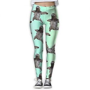 Skinny Tights Active Sloth Yoga Pants Women Sloth Wear